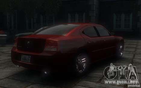 Dodge Charger RT Hemi 2008 para GTA 4 vista hacia atrás
