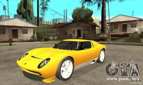 Lamborghini Miura Concept 2006 para GTA San Andreas