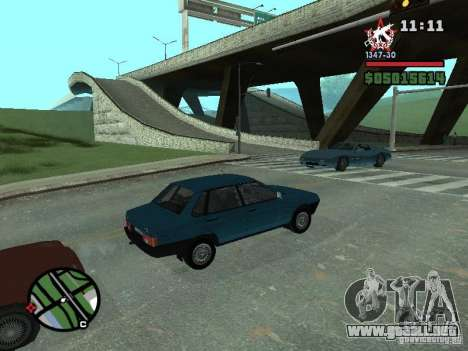 Todas Ruas v3.0 (San Fierro) para GTA San Andreas sexta pantalla