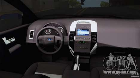 Ford Edge 2010 para la visión correcta GTA San Andreas
