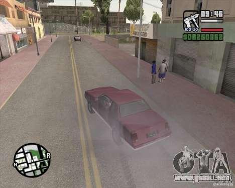 L.A. Mod para GTA San Andreas quinta pantalla