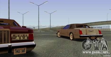 Virgo Continental para visión interna GTA San Andreas