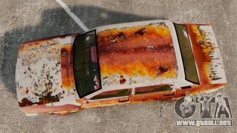 Renault 12 Toros oxidado v2.0 para GTA 4 visión correcta