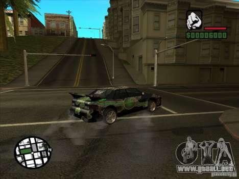 Nuevo vinilo para Cultana para GTA San Andreas vista hacia atrás