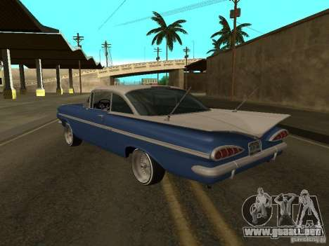 Chevrolet Impala para GTA San Andreas left
