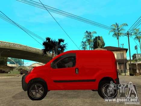 Fiat Fiorino Combi para GTA San Andreas left