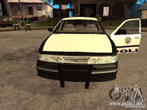 Ford Crown Victoria 1994 Police para la visión correcta GTA San Andreas