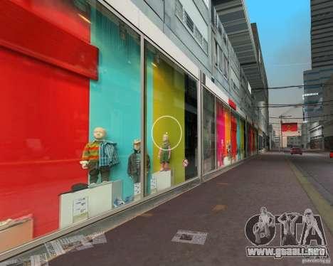 New Downtown: Shops and Buildings para GTA Vice City segunda pantalla