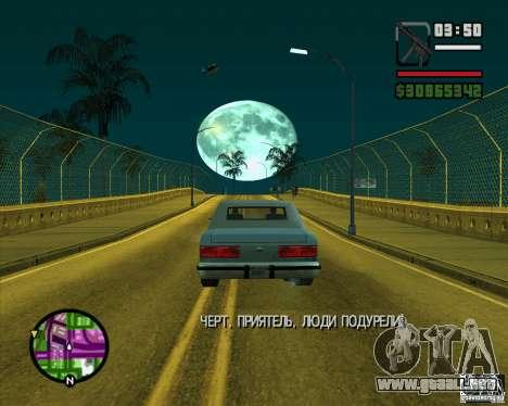 Luna para GTA San Andreas