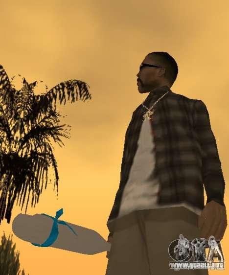 Bate El Coronos v.1.0 para GTA San Andreas sucesivamente de pantalla