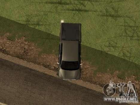 Toyota Tacoma 2011 para visión interna GTA San Andreas