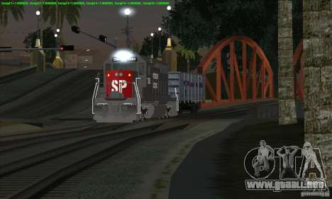 Aumento en el tráfico de trenes para GTA San Andreas