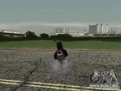 Ángel de Vice City para GTA San Andreas vista posterior izquierda