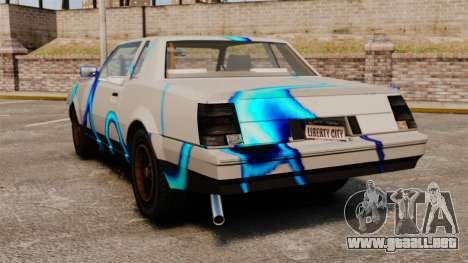 Rusty Sabre en librea, 69 para GTA 4 visión correcta