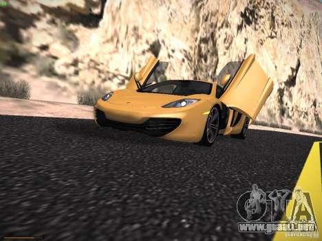 LiberrtySun Graphics ENB v2.0 para GTA San Andreas sucesivamente de pantalla