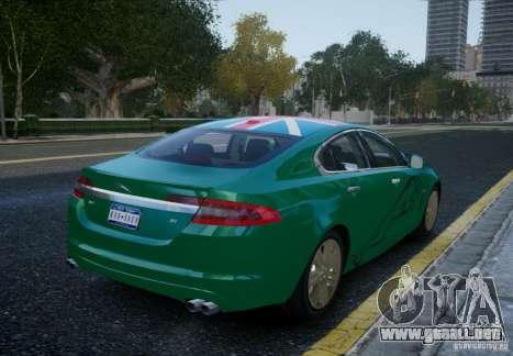 Jaguar XFR 2010 V.2.0 para GTA 4 left