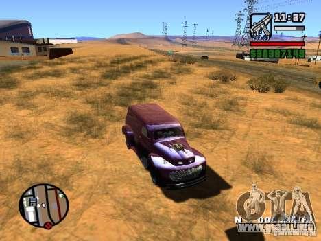 49 Ford HR Van para la visión correcta GTA San Andreas