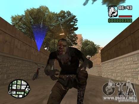 Zombe from Gothic para GTA San Andreas tercera pantalla
