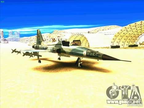 F-5E Tiger para GTA San Andreas