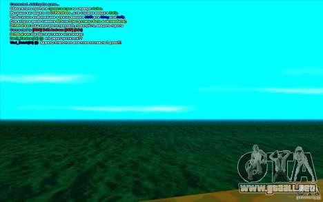 Enbseries cualitativo 2 para GTA San Andreas segunda pantalla