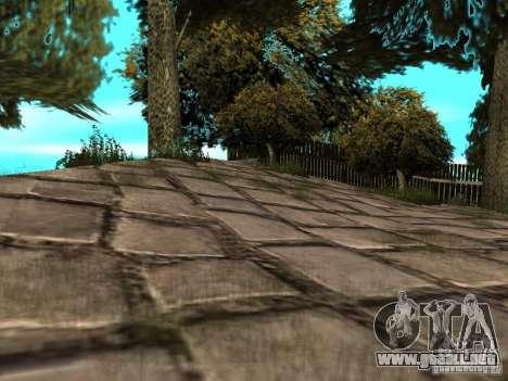 Montaña de piedra para GTA San Andreas sucesivamente de pantalla