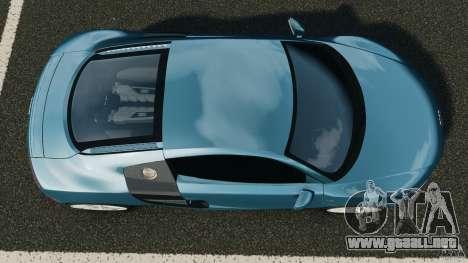 Audi R8 5.2 Stock Final para GTA 4 visión correcta