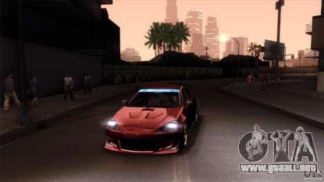 Acura RSX Spoon Sports para el motor de GTA San Andreas