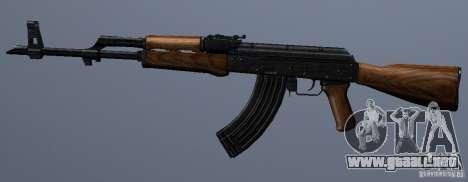 AKM - the more accurate version para GTA San Andreas tercera pantalla