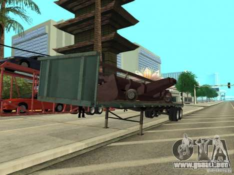 American Trailers Pack para GTA San Andreas left