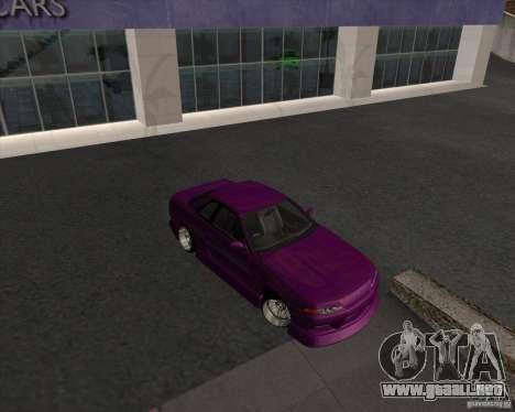Nissan Skyline R32 GTS-T para GTA San Andreas left