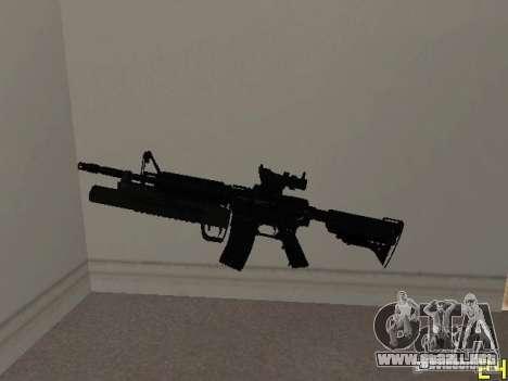 M4 MOD v4 para GTA San Andreas