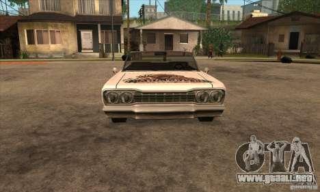 Pintura para Sabana para GTA San Andreas sexta pantalla