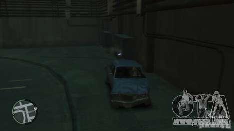 Daño coche realista para GTA 4 adelante de pantalla