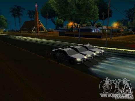 Chevrolet Impala NYPD para las ruedas de GTA San Andreas