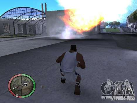 Dinamita MOD para GTA San Andreas sexta pantalla