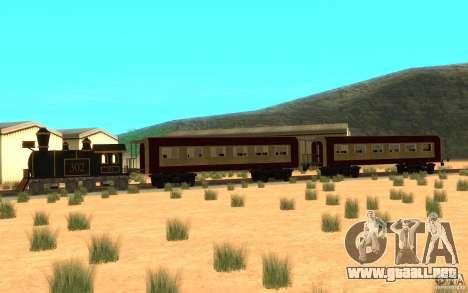 Locomotive para GTA San Andreas left