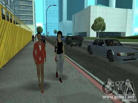 Mirrors Edge Faith para GTA San Andreas tercera pantalla