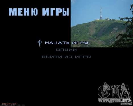Pantallas de carga Pyatigorsk para GTA San Andreas sucesivamente de pantalla