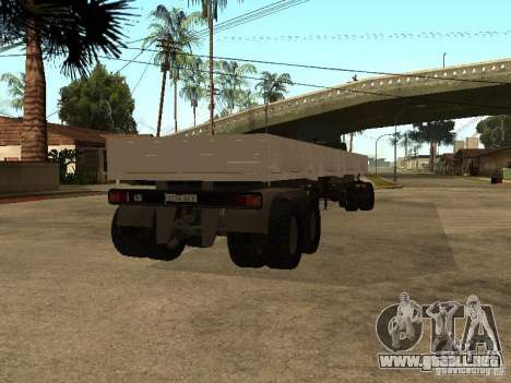 KAMAZ 55111 para GTA San Andreas left