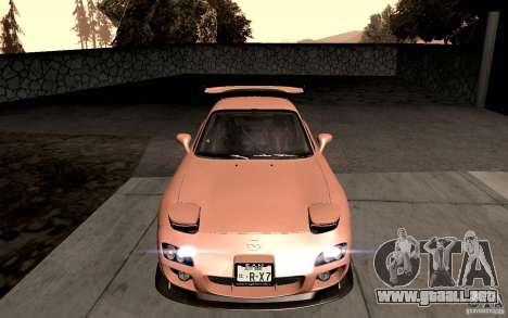 Mazda RX-7 Hellalush para GTA San Andreas