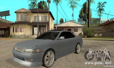 TOYOTA MARK II GT para GTA San Andreas