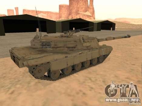 Abrams M1A2 para GTA San Andreas left