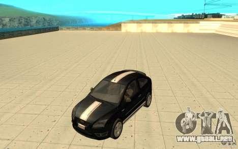 Ford Focus-Grip para la vista superior GTA San Andreas