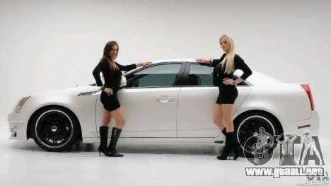 Pantallas de carga y auto chicas para GTA San Andreas tercera pantalla