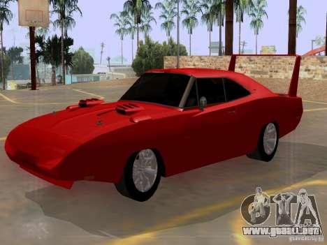 Dodge Charger Daytona 440 para GTA San Andreas