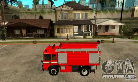 Roman 8135 FA para GTA San Andreas left