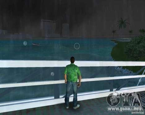 Agua nueva, periódicos, hojas, luna para GTA Vice City tercera pantalla
