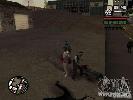 Rottweiler para GTA San Andreas segunda pantalla