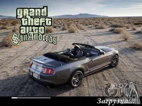 Nuevas pantallas de carga 2011 para GTA San Andreas quinta pantalla