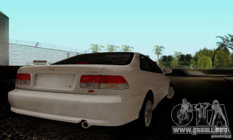 Honda Civic 1999 Si Coupe para la visión correcta GTA San Andreas